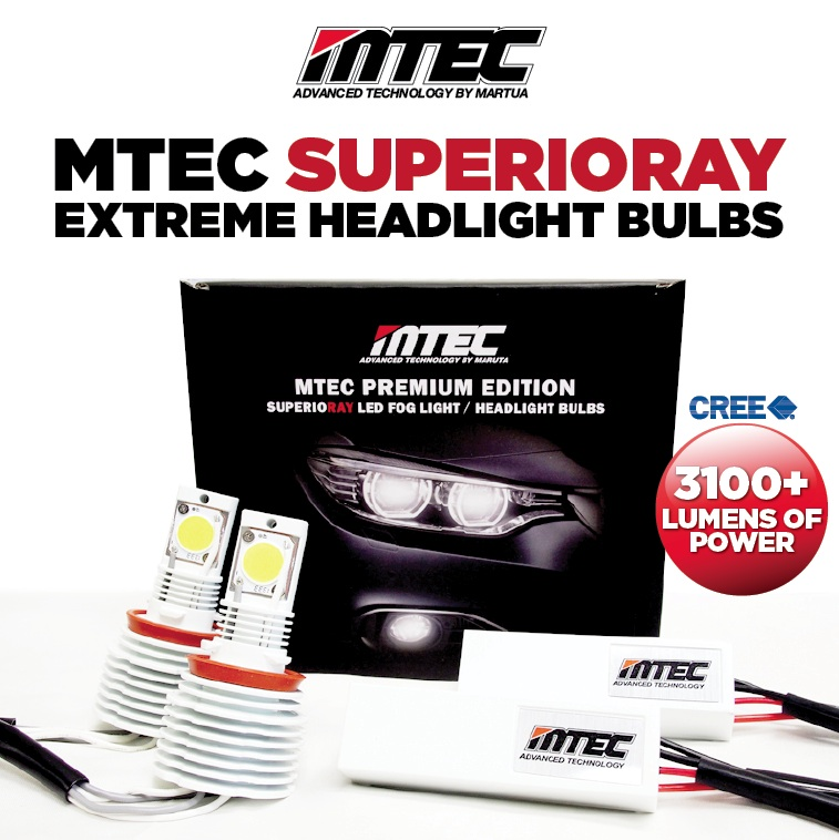 MTEC LED Headlights www carlighttrends com motec wiring harness at alyssarenee.co
